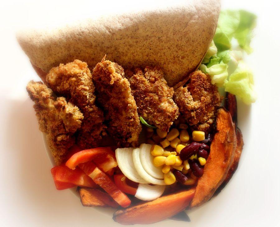 Crispy Chicken medknekkebrødmel