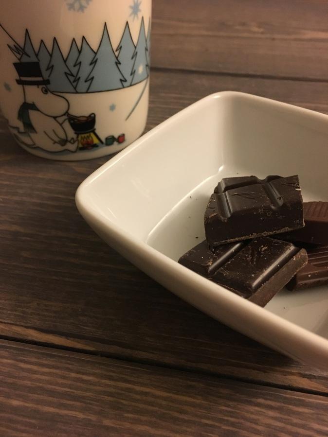 Mørk sjokolade? Ja ellernei?