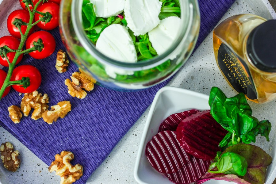 Salat med smak avsommer