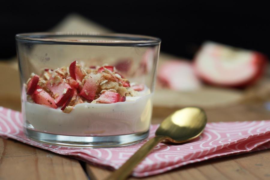 Epledessert med kesam – et mellommåltid somvarmer