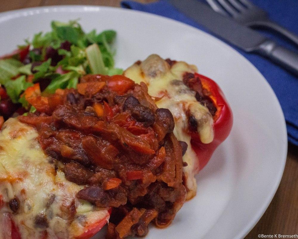 enkel vegetarmiddag på under 30 minutter